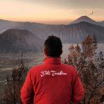 Bromo sunrise dengan view gunung semeru