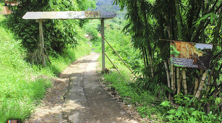 rute menuju curug teplek
