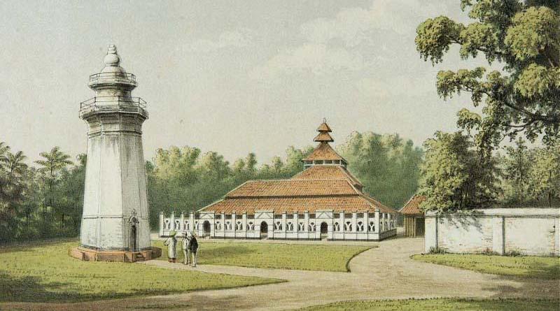 Foto Lama mesjid Banten